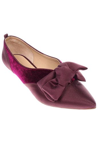 cecconello chaussures femme de couleur violet