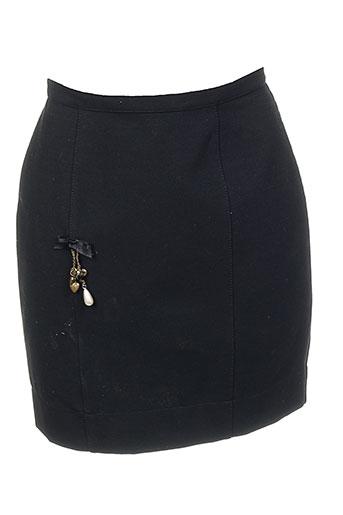dp jeans jupes femme de couleur noir
