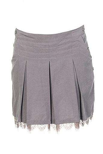egerie jupes femme de couleur gris