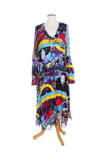 Robe longue bleu DISLAY pour femme