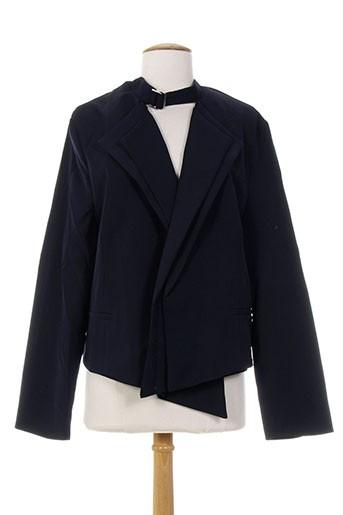 Veste casual bleu INFINI MOI pour femme