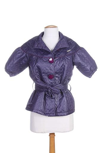 amarillolimon vestes femme de couleur violet
