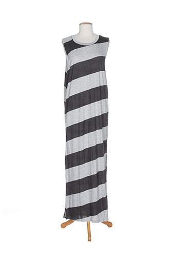 cheap monday robes femme de couleur gris