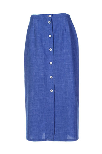 kananga jupes femme de couleur bleu
