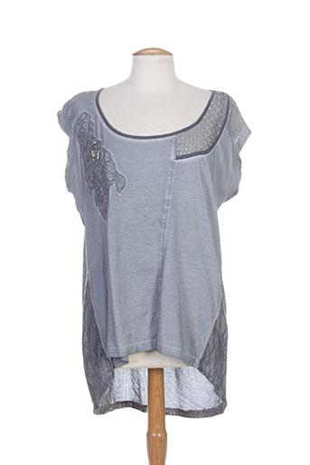 angel never die t-shirts femme de couleur gris