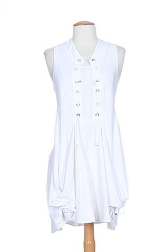 collection privee robes femme de couleur blanc