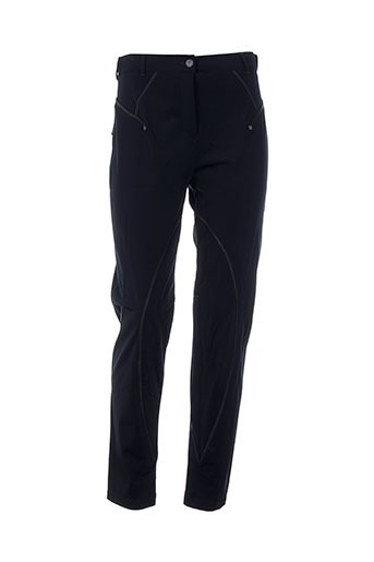 mc planet pantalons femme de couleur bleu