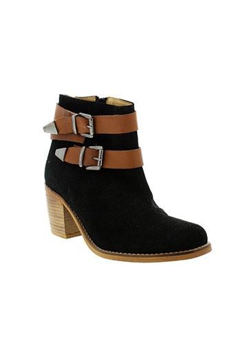 lsq chaussures femme de couleur noir