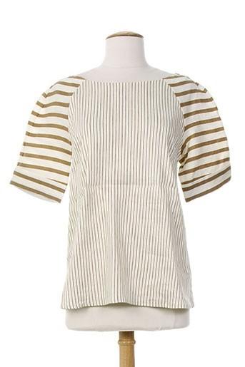 piazza sempione chemises femme de couleur beige