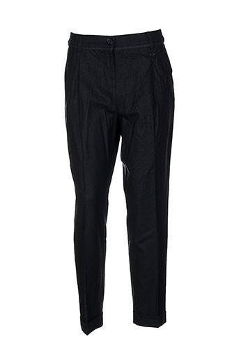 pennyblack pantalons femme de couleur noir