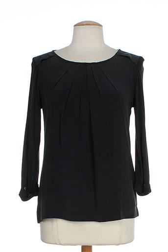 luisa cerano chemises femme de couleur noir
