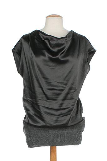 luisa cerano chemises femme de couleur gris