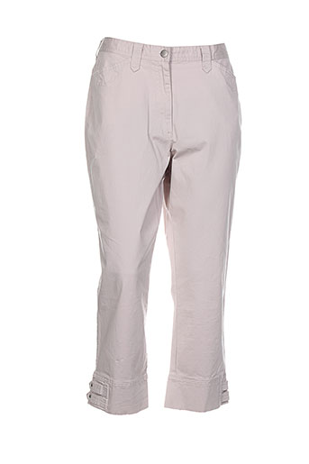 gerke my pants pantacourts femme de couleur beige