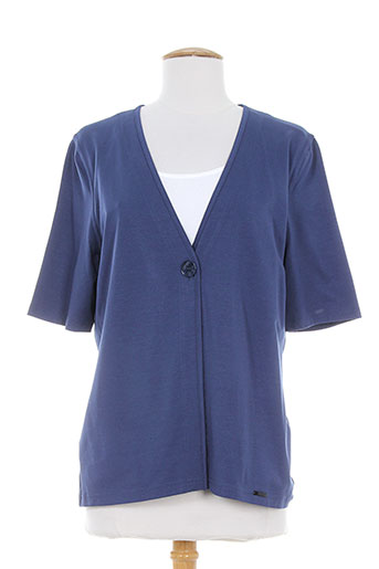 lucia chemises femme de couleur bleu