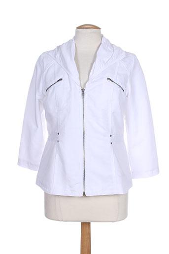 jensen vestes femme de couleur blanc