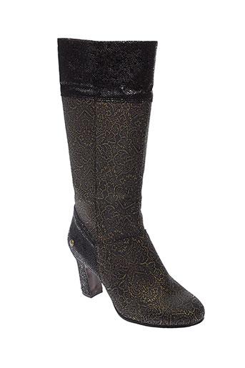 neosens bottes femme de couleur noir