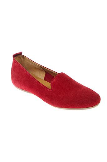 mally ballerines femme de couleur rouge