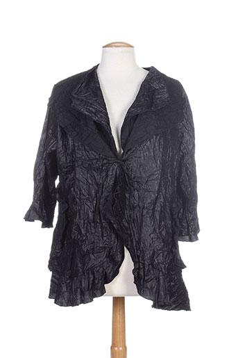 2w et paris vestes femme de couleur noir (photo)