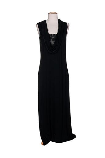 argentovivo chemises et de et nuit femme de couleur noir
