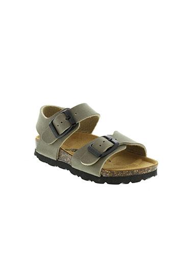 goldstar sandales et nu et pieds fille de couleur marron