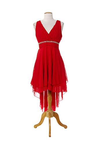 emma dore robes femme de couleur rouge