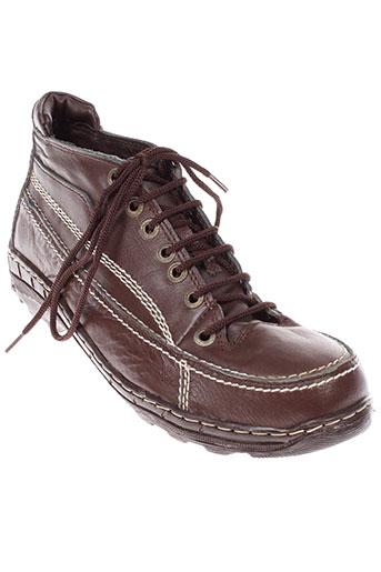 atlas chaussures homme de couleur marron