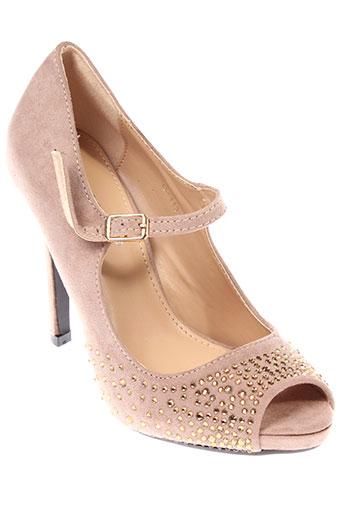 foli folio chaussures femme de couleur rose