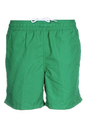 ralph et lauren short homme de couleur vert