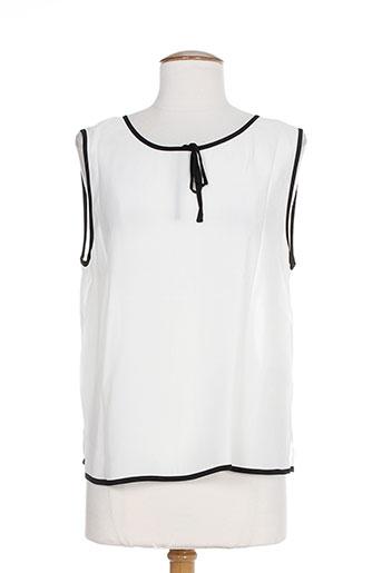 belair t et shirts et tops femme de couleur blanc