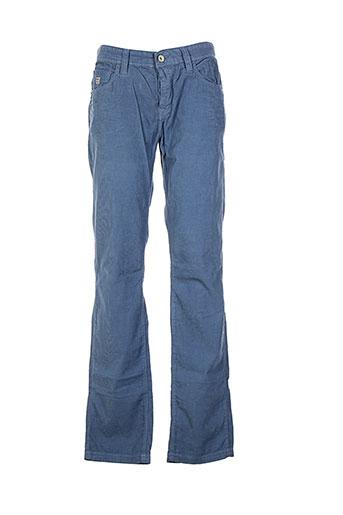 r95th pantalons homme de couleur bleu