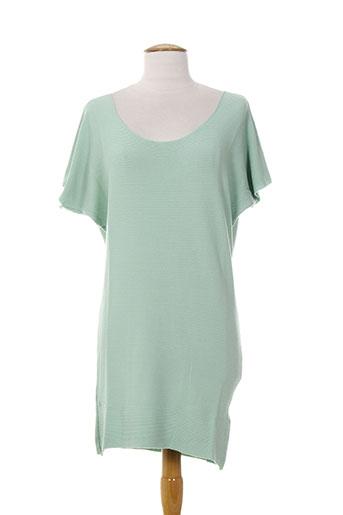 carolina p. robes femme de couleur bleu