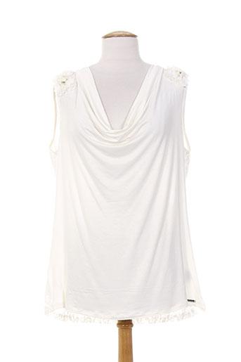passioni t-shirts femme de couleur blanc