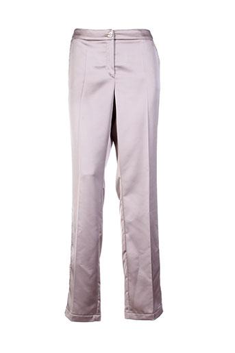 tuzzi pantalons et citadins femme de couleur beige