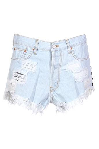 runwaydreamz shorts / bermudas femme de couleur bleu