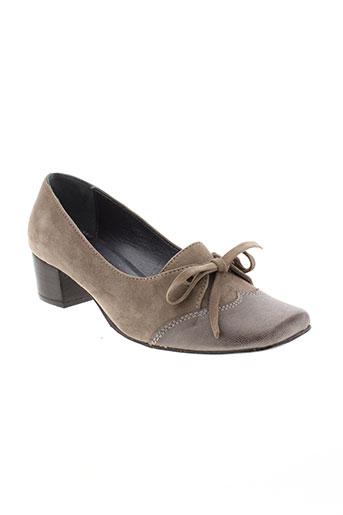 ayame chaussures femme de couleur marron
