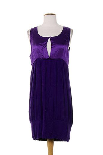 margit brandt robes femme de couleur violet