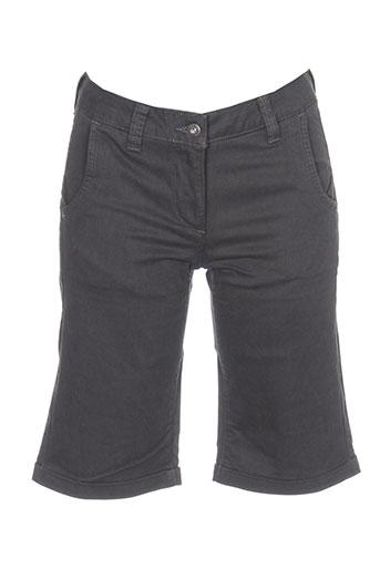 sandwich shorts / bermudas femme de couleur gris