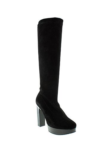 robert et clergerie bottes femme de couleur noir