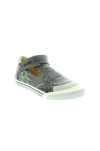 mod 8 chaussures garçon de couleur gris