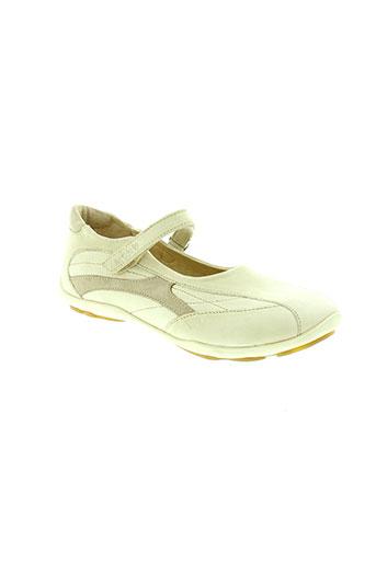 mod 8 chaussures fille de couleur beige