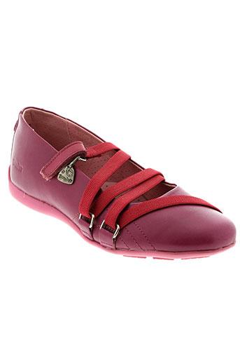 gbb chaussures fille de couleur rose