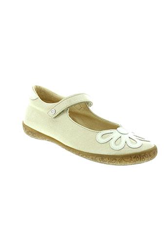 naturino chaussures fille de couleur beige