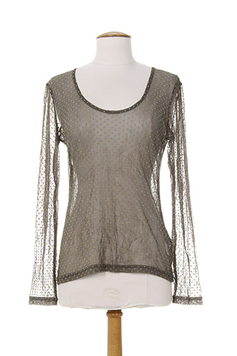 akela key chemises femme de couleur gris