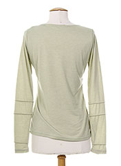T-shirt manches longues vert AKELA KEY pour femme seconde vue