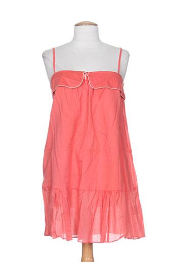 bel air robes femme de couleur orange