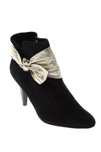 claudina chaussures femme de couleur noir