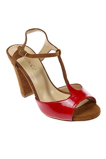 basta cosi chaussures femme de couleur marron