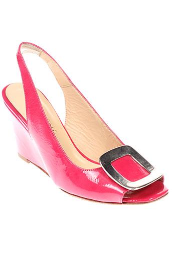 basta et cosi sandales et nu et pieds femme de couleur rose