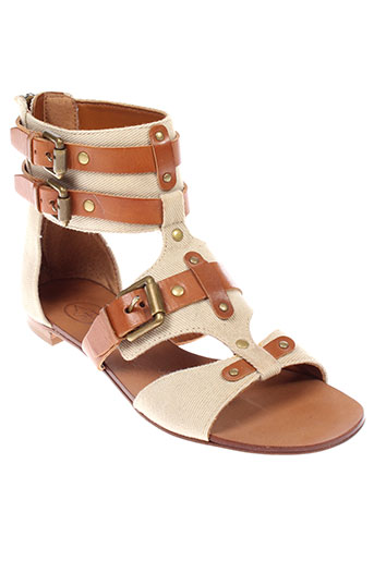 ash chaussures femme de couleur beige