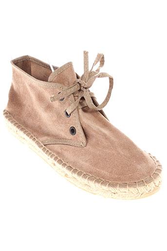 pare gabia chaussures fille de couleur beige
